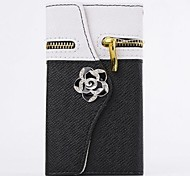 Camellia Wallet PU Leather Full Body Case with Stand for SAMSUNG GALAXY Note 3 N9000