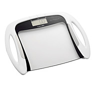 Camry Body Fat Scale Digital Bathroom Transparent Human Scale with Convenient Handles(150kg/330lb,100g)