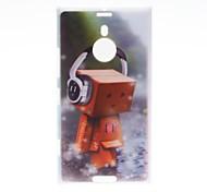 Kinston Happy Puppet Pattern Plastic Hard Case for Nokia Lumia 1520