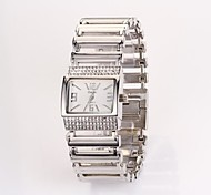 Women's Round Dial Design Stainless Steel Brand Luxury Dinner Ladies Watch C&d100(Assorted Color)
