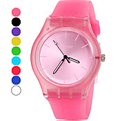 Women's Watch Simple Style Candy Color Silicone Band Cool Watches Unique Watches Fashion Watch