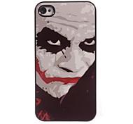 estuche rígido labio rojo diseño de aluminio para el iphone 4 / 4s