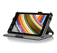 Heat Setting Hard Back Leather Stand Case for Acer Iconia W4-820 8' Tablet