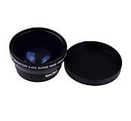 0.45 X 49mm Lente Gran Angular y Macro para Sony Nikon Canon Fujifilm Pentax Samsung Panasonic Leica Olympus Sigma 49mm Rosca Lente