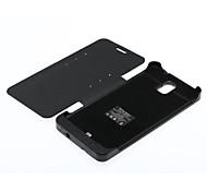 Black 4200mAh External Battery Case for Samsung Galaxy Note 3 N9005 w/ Stand