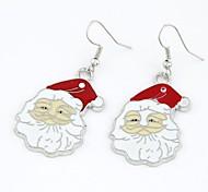 Weihnachtsmann-Ohrringe
