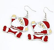 Клаус серьги Рождество Санта
