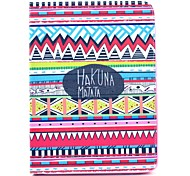 Hakuna Matata Tribal Pattern Full Body Leather Case Cover with Stand  for Samsung Tab 4 10.1 T530