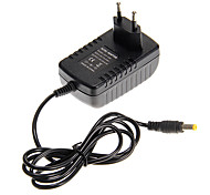 EU Plug DC 12V to AC 110-240V 2A 24W LED Power Adapter