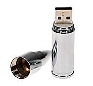 metal mini bala unidad flash USB de 8 GB