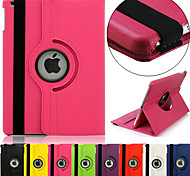 DSB® Etui Smart cover + Coque arriere + Presentoire 360° - PU cuir - Ipad Air