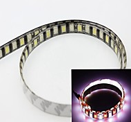 White + Red 60cm 5050smd 60led 12W 6000-6500K 635-700nm 550-650 LM DC12V IP65 Waterproof Strip Light