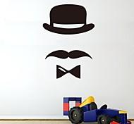 JiuBai™ Cartoon Beard Wall Sticker Wall Decal