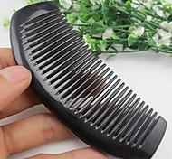 longueur de haute qualité autour 11-13cm peigne en corne noire