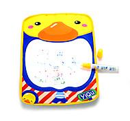 36*26.5*4cm Boys Duck Pattern Aquadoodle Water Drawing Board Magic Pen Novelty Toys