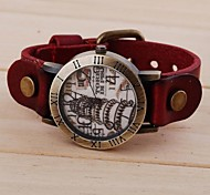 Women's Fashion Vintage Leaning Tower Pattern Watches(Assorted Colors)