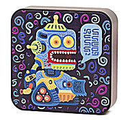 iMove 8000mAh Yellow Robot Pattern External Battery for iPhone5s/Samsung Galaxy S4/Note3 and other Mobile Devices