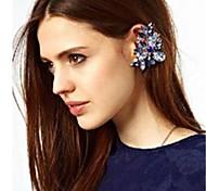 Fashion 2014 New Big Unilateral Acrylic Crystal Ear Cuffs for Women