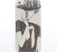 VOGUE Design Soft Case for iPhone 4/4S