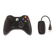Controlador inalámbrico 2.4G&receptor para Xbox 360 / PC