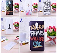 Graffiti Letters Pattern Plastic Hard Case  for XIAOMI 4