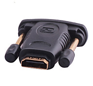 DVI (24 + 1) Stecker auf HDMI Buchse Adapter v1.4