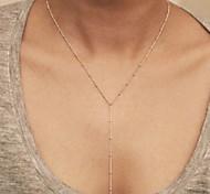 colar shixin® forma y safra pendente liga quente (1 pc)