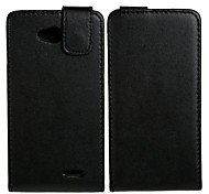 Full Body PU Leather Case Protective Pouches for  LG L70