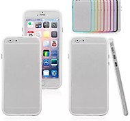 Stylish TPU Bumper Frame Cover for iPhone 6 (Assorted Colors)