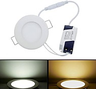 9 W 1 SMD 3528 580 LM Warm White / Cool White Panel Lights AC 85-265 V