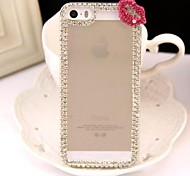 Diamond Sexy Lips Back Cover Case for iPhone 5/5S(Assorted Colors)