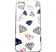 cas dur de modèle de diamant pour iphone 5/5 ans
