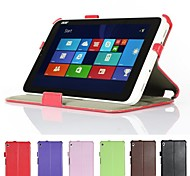 """Heat Setting Hard Back Leather Stand Case for Acer Iconia W3-810 8.1"""" Tablet"""