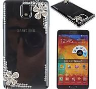 retour bijoux cas motif cerise en métal pour Samsung Galaxy Note 3