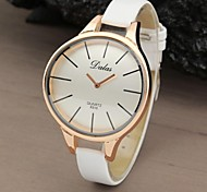 Women's Watch Fashionable Style Casual Rose Gold Curved Case