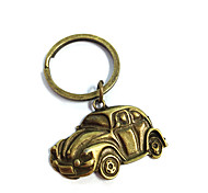 Vintage Old Car Bronze Alloy Keychain(1 Pc)