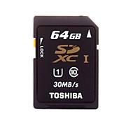 toshiba classe 64gb 10 UHS-1 Scheda di memoria SDHC 30MB / s sd-c64gr7wa3