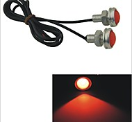 Carking™ 12V 1.5W 23MM Auto Car Eagle Eye Red Rear LED Light Day Time Running Lamp-Red Lens