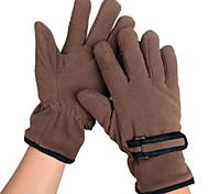 Glove Cycling / Bike All / Men's Full-finger Gloves Windproof / Keep Warm Winter Brown / Others L - INBIKE