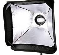 Godox S-Type Speedlite Bracket Bowens Mount+60*60cm Portable Softbox SFUV-6060 for Camera Flash