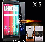 Ultimate Shock Absorption Screen Protector for HTC ONE X(5PCS)