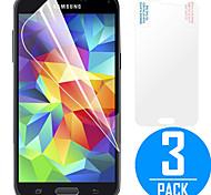 Protecteur d'écran LCD ORD ® Premium High Penetration HD avec chiffon de nettoyage en microfibre pour Samsung Galaxy S5 (3 Pack)