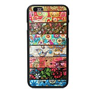 Elonbo The Leaves and Flowers Plastic Hard Back Cover for iPhone 6