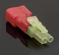 No Wires Connectors/Plug Female T-Plug to Male Mini Tamiya (10PCS/Bag)