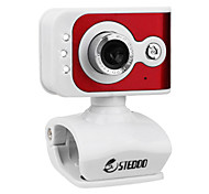 Steboo R9 High Definition UVC Night Vision 12 Megapixel Webcam with Microphone