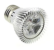 3W E26/E27 LED Spot Lampen MR16 3 High Power LED 220 lm Kühles Weiß AC 85-265 V