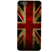National Flag Design PC Hard Back Cover for iPhone 6