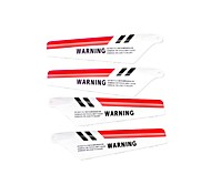 Syma RC Helicopter Accessories 1 Set Blades Two Color Red and Yellow Available Suitable for S107G Helicopter