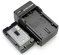 DSTE completo di batteria / D120 Li-ion CGR-D08S codice + caricatore DC60 per PANASONIC NV-DS60 telecamera pv-dv103