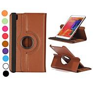 360 rotierenden elastischen Gurt stehen auto Schlaf / Wach-Ledertasche für Samsung Galaxy Tab Pro 8.4 T320